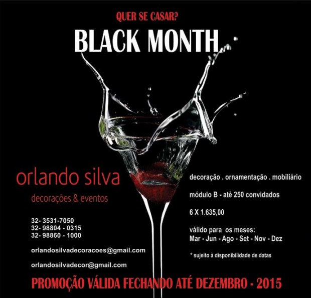 NOVA ARTE BLACK MONTH